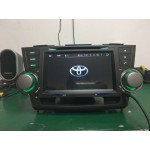 Toyota Highlander Android grotuvas