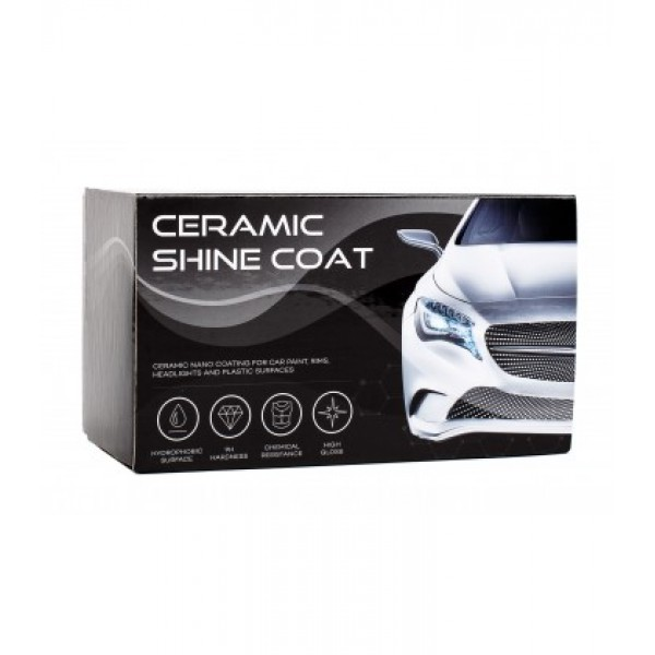 Automobilio Nano danga: Ceramic Shine Coat