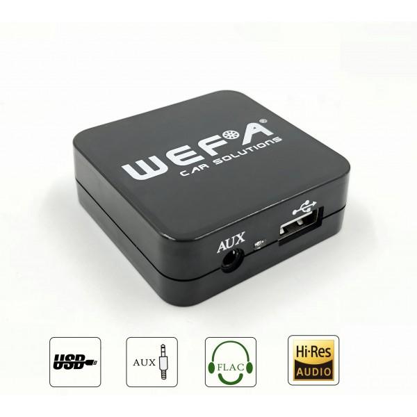 WEFA USB/AUX Škoda skaitmeninis muzikos priedėlis