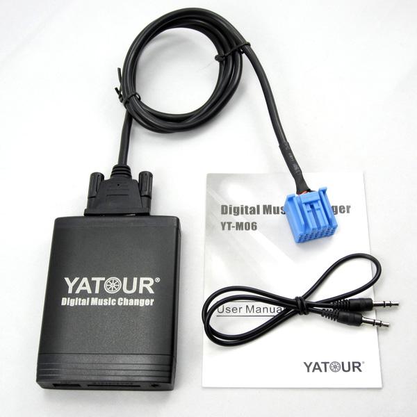 Acura skaitmeninis Yatour USB muzikos priedėlis