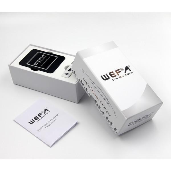Toyota WEFA Bluetooth USB skaitmeninis muzikos priedėlis